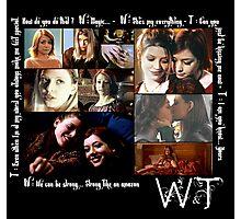 Willow & Tara Quotes Photographic Print