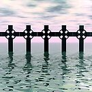 Line of Crosses by Keith Reesor