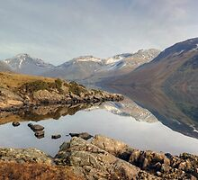 Wastwater In February by Jamie  Green