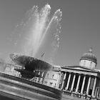 Tragalgar Square, London by Katherine Wiles