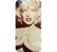 SATANIC MARILYN iPhone Case/Skin