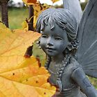 Golden Leaves of Autumn Fairy by AbsintheFairy