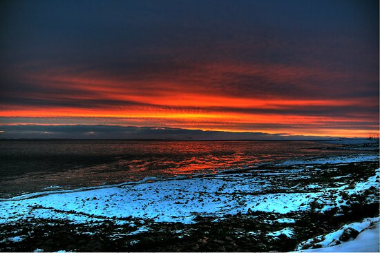 Snow Set by Roddy Atkinson