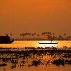 Kerala Backwaters Sunrise by Carlton Grooms
