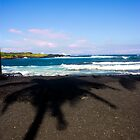 Big Island's Shadow by Carlton Grooms