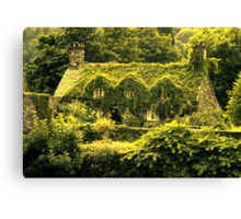 In the green (Llanrwst) Canvas Print