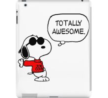 Joe Cool Snoopy iPad Case/Skin