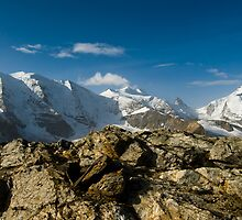 View from Diavolezza by peterwey
