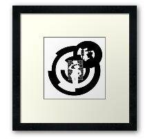 Kaito KID quotes logo Framed Print