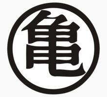 Dragon Ball Z Master Roshi Turtle kanji Kids Clothes