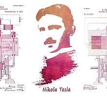Nikola Tesla - Apparatus for aerial transportation by JBJart