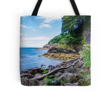 The Beautiful Wild Side of Babbacombe Bay, Devon, England Tote Bag