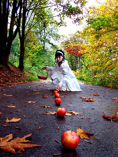 October Apples by PorcelainPoet
