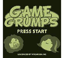 Game Grumps GameBoy Photographic Print