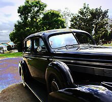 Clear blue afternoon; nice time to get out show off The 1939, sun shine & dressed in zoot suit of the time!; La Mirada, CA USA by leih2008