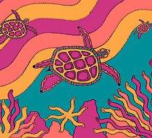 Goorlil - (turtle) jalalay season (spring)  by sekodesigns