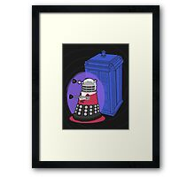 Daleks in Disguise - Third Doctor Framed Print