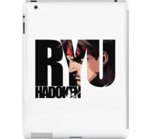 Street fighter 2 - RYU iPad Case/Skin