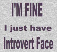 Introvert Face by KittenFlower
