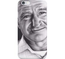 Realism Charcoal Drawing of Robin Williams iPhone Case/Skin