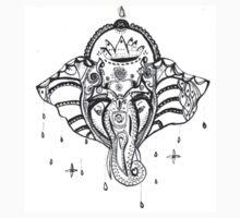 Yoga Elephant T-Shirt