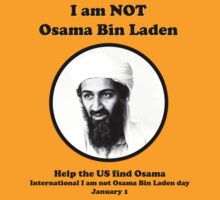 I am not Osama Bin Laden by Ben Ryan