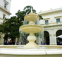 *Fountain - Outside Entertainment Area - Government House Vic.* by EdsMum
