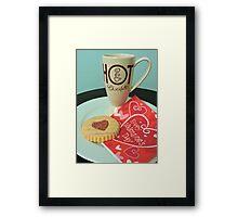 Valentine Treats Framed Print