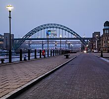 Tyne Bridge - Rugby World Cup 2015 - Host City Newcastle Upon Tyne by David Lewins