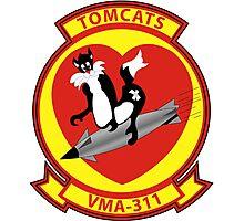 Attack Squadron - VMA - 311 Photographic Print