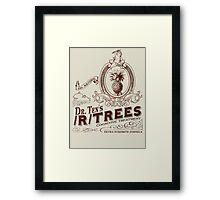 Dr. Ten's /r/trees Framed Print