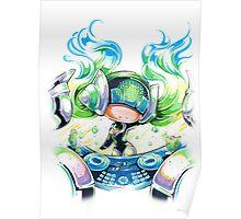Chibi Kinetic DJ Sona Poster