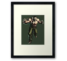 Final Fight - Mike Haggar  Framed Print