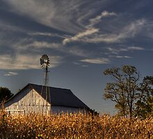 Old Barn by Jeff VanDyke