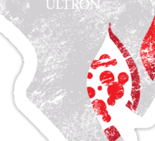 Ultron is Coming Sticker