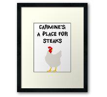 Carmine's Framed Print