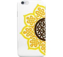 Celtic Sunflower iPhone Case/Skin