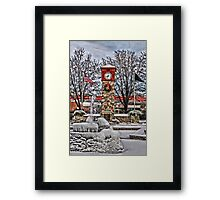 Ice Cold Holiday Framed Print