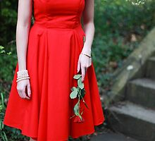 Red Dress II by Jacqueline Moore