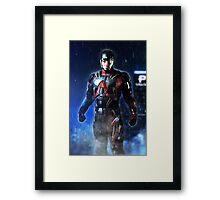 Arrow - Atom Suit (Ray Palmer) Framed Print