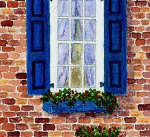 'Blue Shutters' by Thom Glace