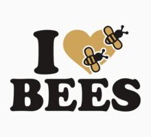 I love bees Kids Clothes