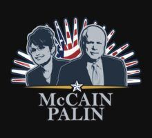 McCain Palin '08 Shirt by JayBakkerArt
