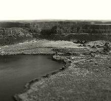 Dry Falls - Washington State - Panorama by Aimee Stewart