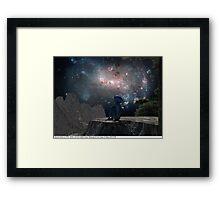 Blue Man 11: Homesick Framed Print