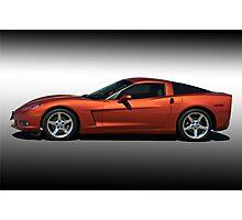 2005 Corvette Coupe Studio Profile Photographic Print