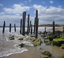 Pt Willunga poles by shallay