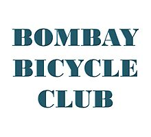 BOMBAY BICYCLE CLUB LOGO Photographic Print