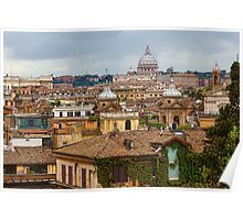 Messy, Fascinating and Wonderful - the Roofs of Rome Poster