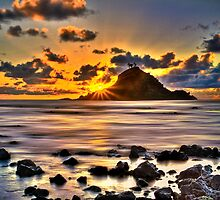 First Light on Hana, Maui by Randy Jay Braun
